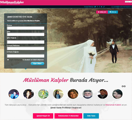 Müslüman Kalpler Blog